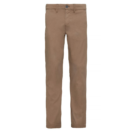 Herren Squam Lake Textured Chinos Dunkelbeige | Timberland