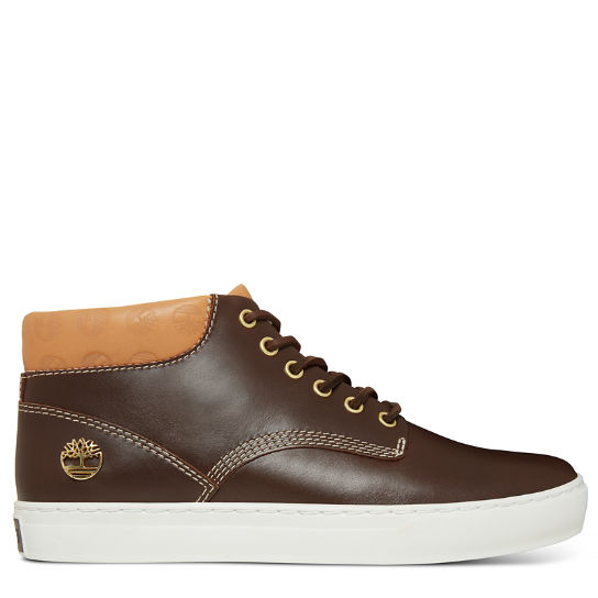 Men's Adventure 2.0 Cupsole Chukka Monogram Brown | Timberland