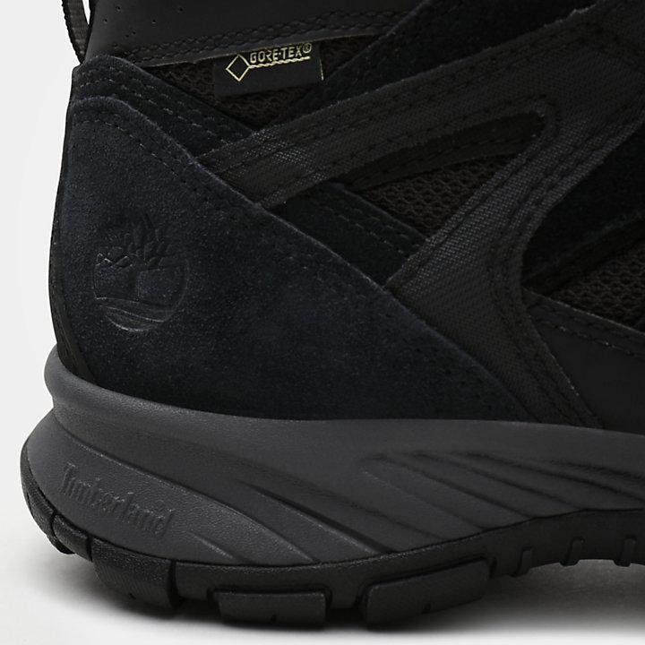 Sadler Pass Sneaker for Men in Black-