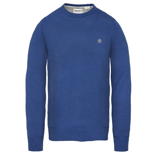 Williams River Sweater Hombre Azul | Timberland