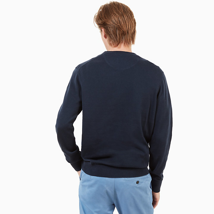 Williams River Sweater for Men in Navy-