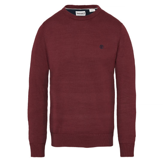 Williams River Sweater Homme Cerise | Timberland