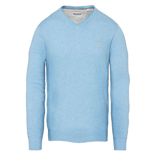Williams River Sweater Homme Bleu clair | Timberland