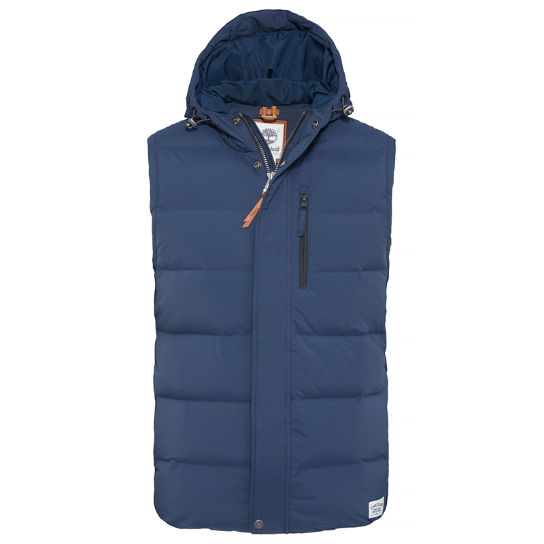 Goose Eye Vest azul oscuro hombre | Timberland