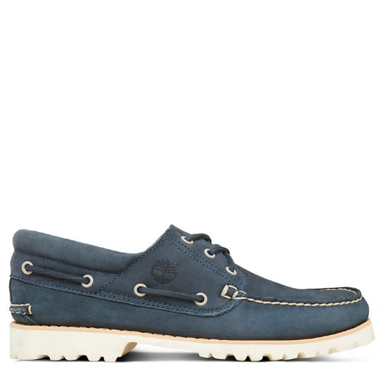 Chilmark 3-Eye Boat Shoe Marineblauw Heren | Timberland