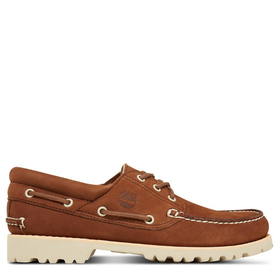 Chilmark 3-Eye Boat Shoe Bruin Heren | Timberland