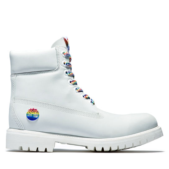 Limited Edition Pride 6 Inch Boot for Men in White | Timberland