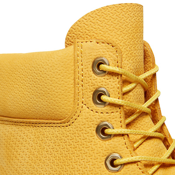 Premium 6 Inch Boot for Men in Yellow-