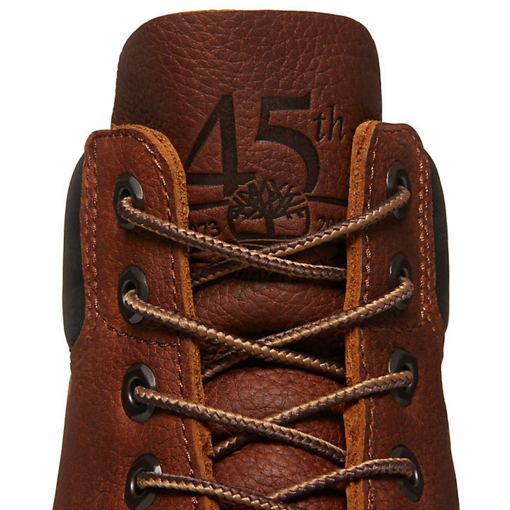 6-inch Boot 45e anniversaire pour homme en marron-