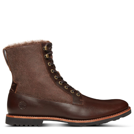 Kendrick Warm Lined Boot for Men in Brown | Timberland