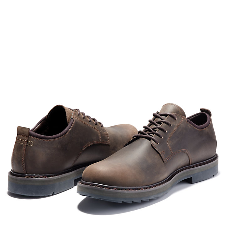 Squall Canyon Plain-Toe Oxfordschuh für Herren in Dunkelbraun-