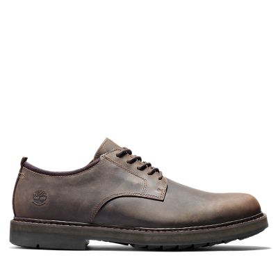 Squall+Canyon+Plain-toe+Oxford+voor+heren+in+donkerbruin
