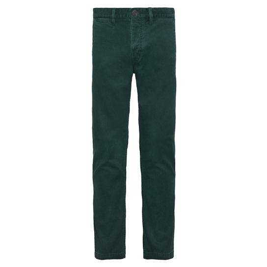 Squam Lake Textured Chinos verde hombre | Timberland