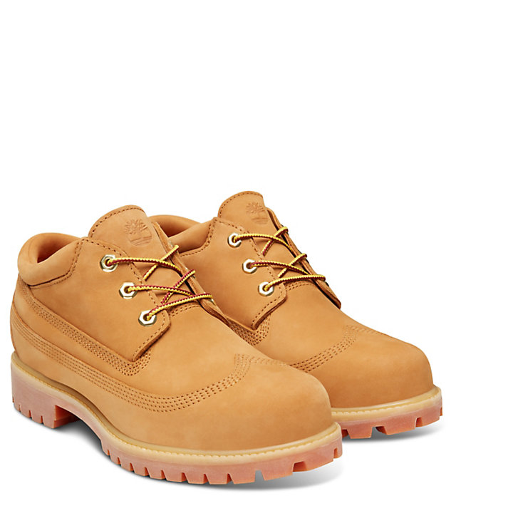 Premium Wing Oxford Shoe Homme Jaunes-