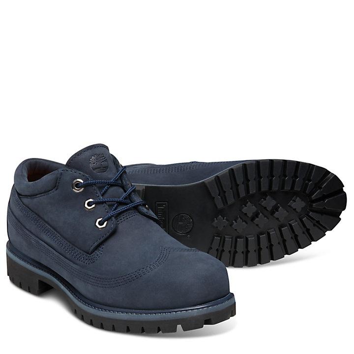Men's Premium Wing Oxford Shoe Navy-