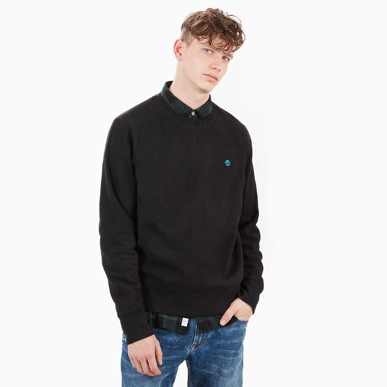 Exeter River Sweatshirt for Men in Black | Timberland