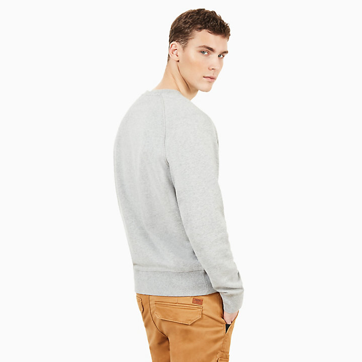 Exeter River Sweatshirt for Men in Grey-