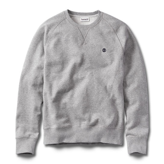 Men's Exeter River Crew Neck Jumper Grey | Timberland