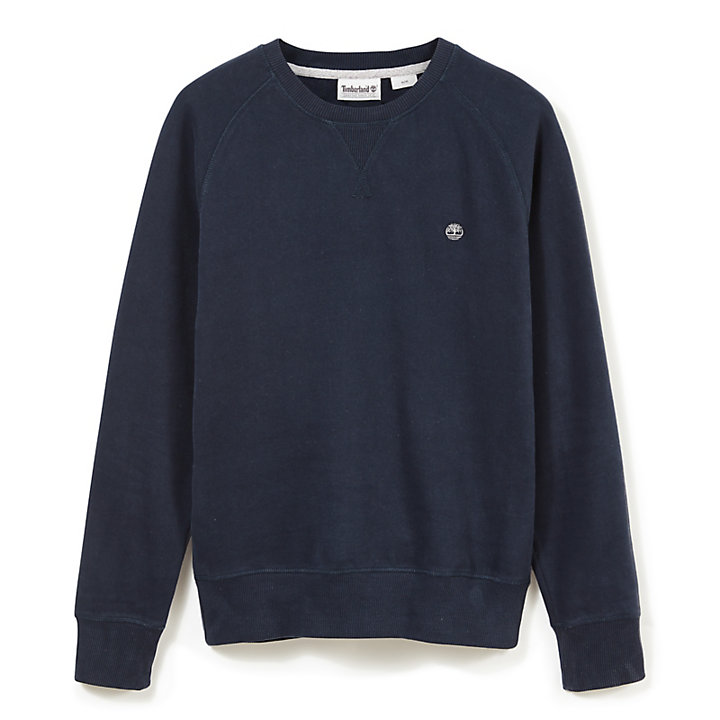 Exeter River Sweatshirt voor Heren in Marineblauw-