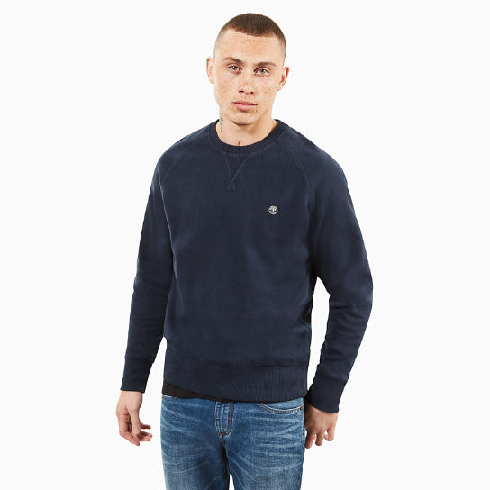Men's Exeter River Crew Neck Jumper Blue | Timberland
