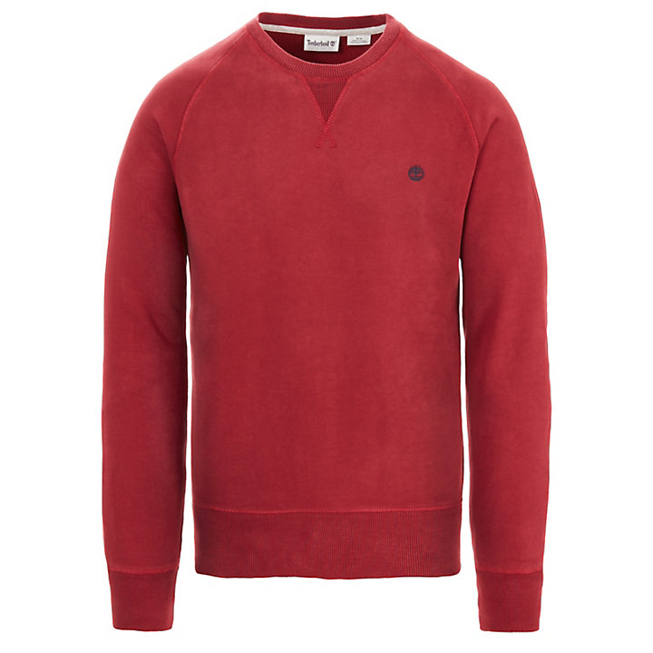 Exeter River Sweatshirt voor Heren in Rood-
