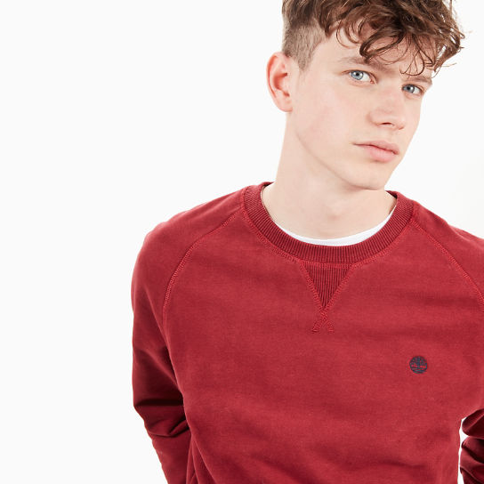 Exeter River Sweatshirt voor Heren in Rood | Timberland