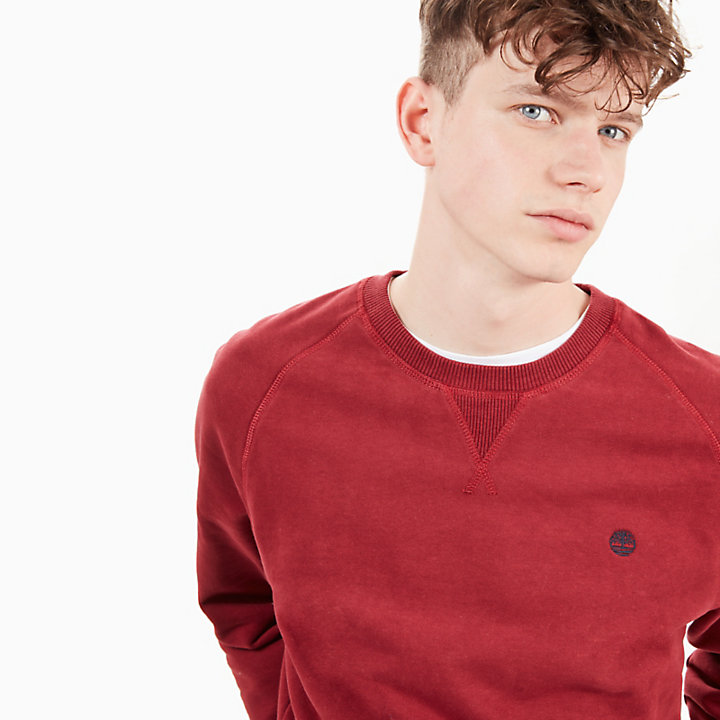 Exeter River Sweatshirt for Men in Red-