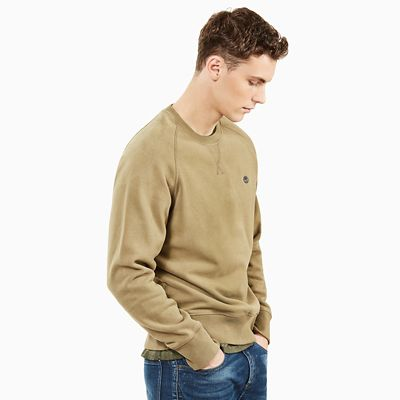 Exeter+River+Sweatshirt+for+Men+in+Green