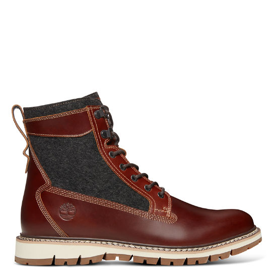 NXTwool™ Britton Hill 6 Inch Boot for Men in Brown | Timberland