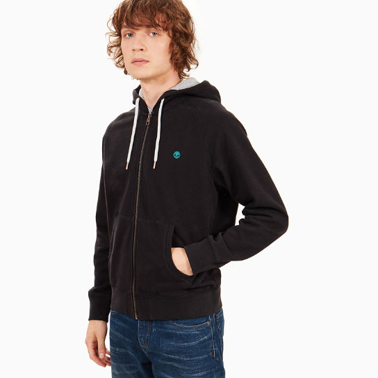 Exeter River Hoodie for Men in Black | Timberland