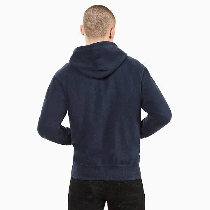 Exeter River Full Zip Hoodie for Men in Navy-