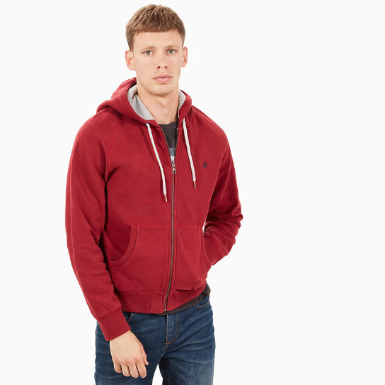 Exeter River Hoodie for Men in Red | Timberland