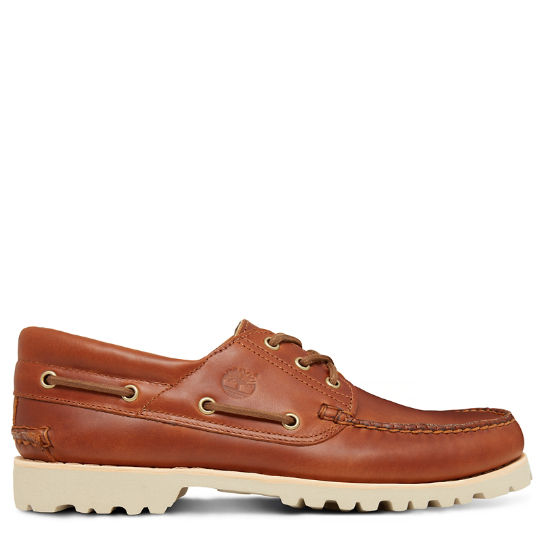 Chilmark Boat Shoe for Men in  Brown | Timberland