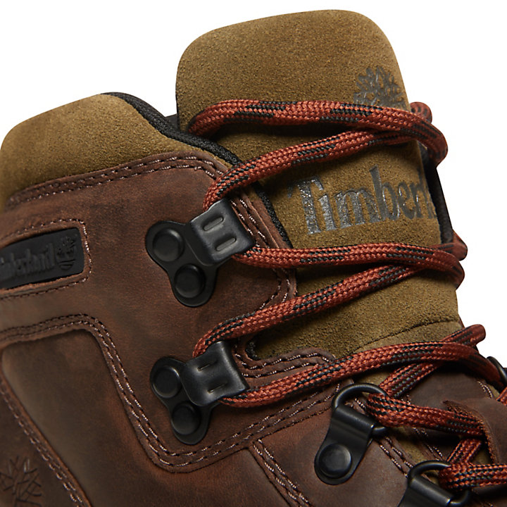 Euro Hiker Hiking Boot for Men in Brown-