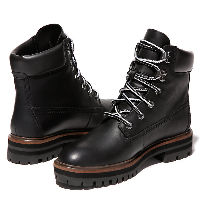 London Square 6 Inch Boot for Women in Black-