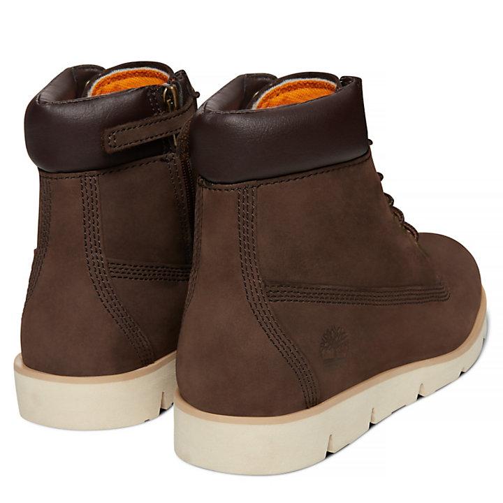 Radford 6 Inch Boot for Juniors in Dark Brown-