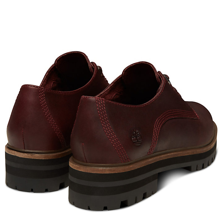 London Square Oxford for Women in Burgundy-