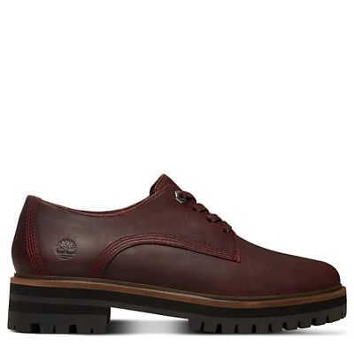 London+Square+Oxford+for+Women+in+Burgundy