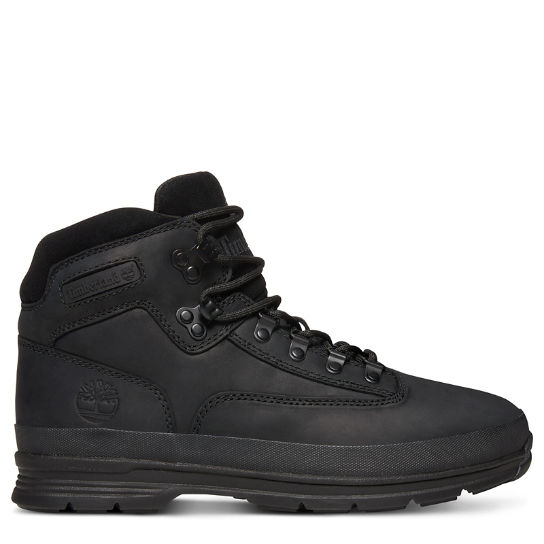 ec48cdbc622a92 Euro Hiker Hiking Boot for Men in Black   Timberland
