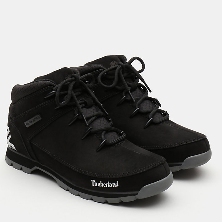 Euro Sprint Hiker for Men in Black-