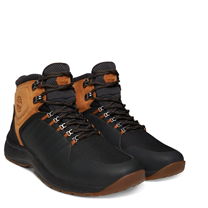 FlyRoam™ Trail Hiker Boot for Men in Black-