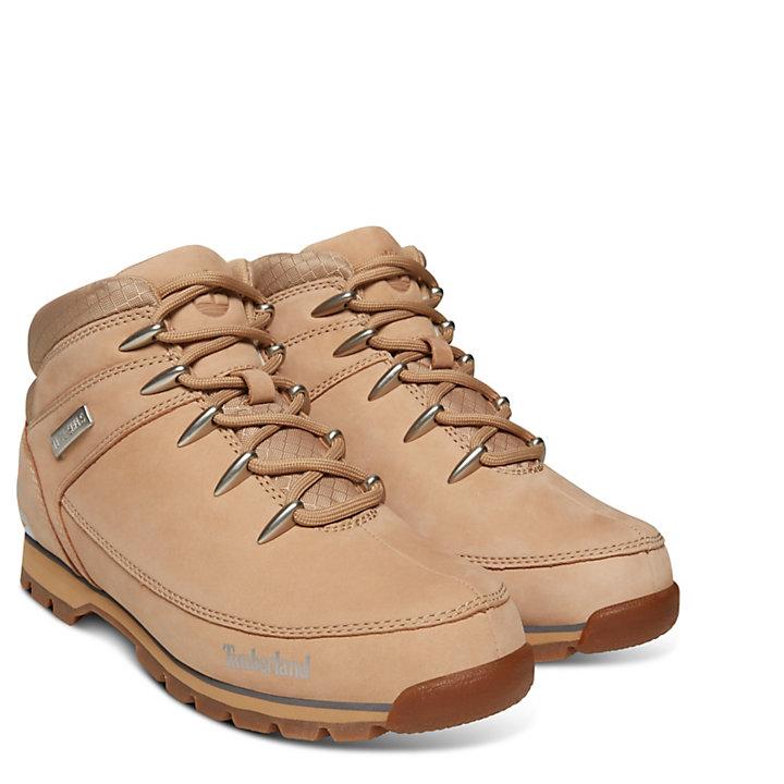 Euro Sprint Leather Hiker for Men in Beige-