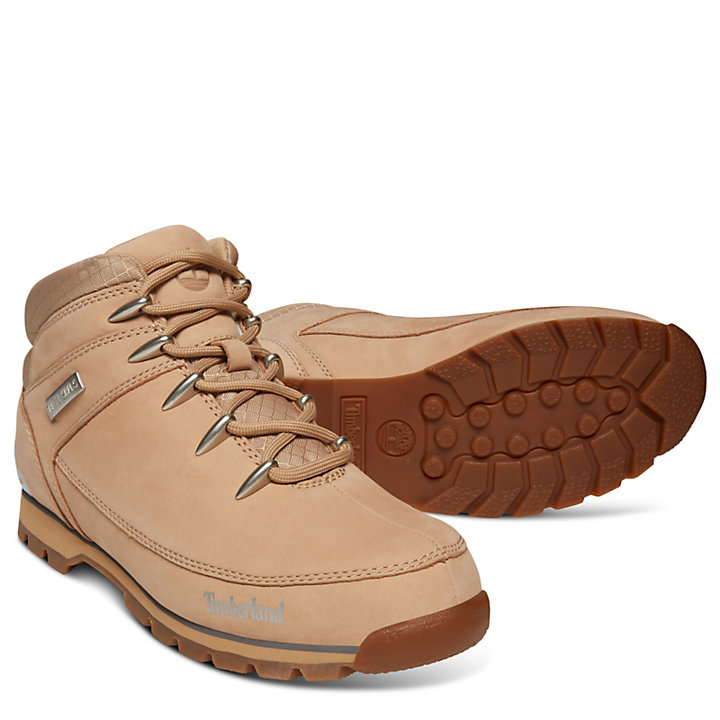 Euro Sprint Leather Hiker for Men in Beige-