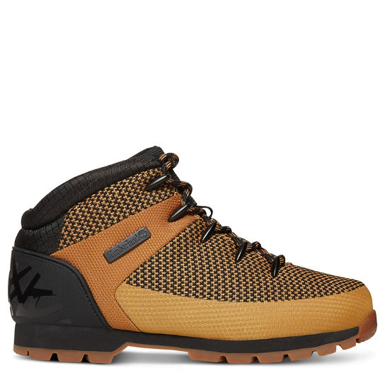 Euro Sprint Fabric Hiker for Men in Yellow/Black | Timberland