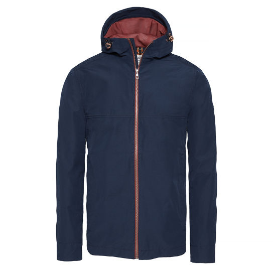 Herren Ragged Mountain Packable Jacket Blau | Timberland
