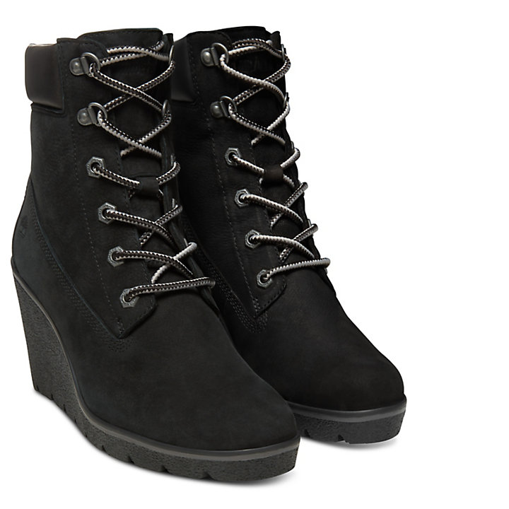 e3222a49e373 Paris Height 6 Inch Boots for Women in Black