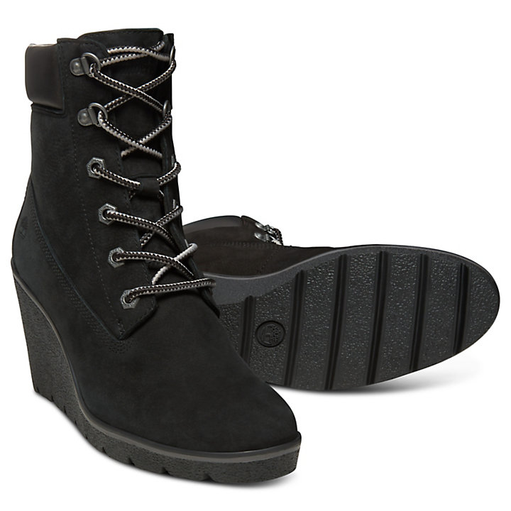 Paris Height 6-Inch-Stiefel für Damen in Schwarz-