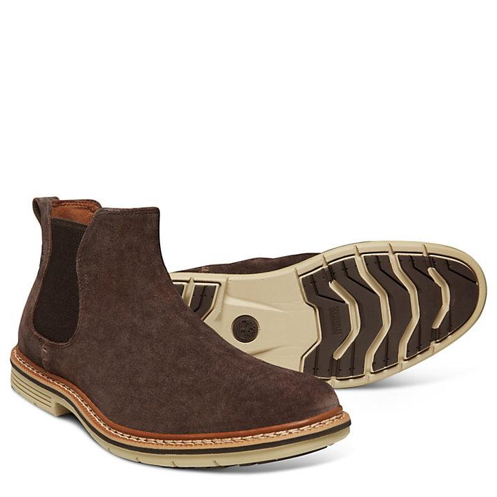 Men's Naples Trail Chelsea Boot Brown-