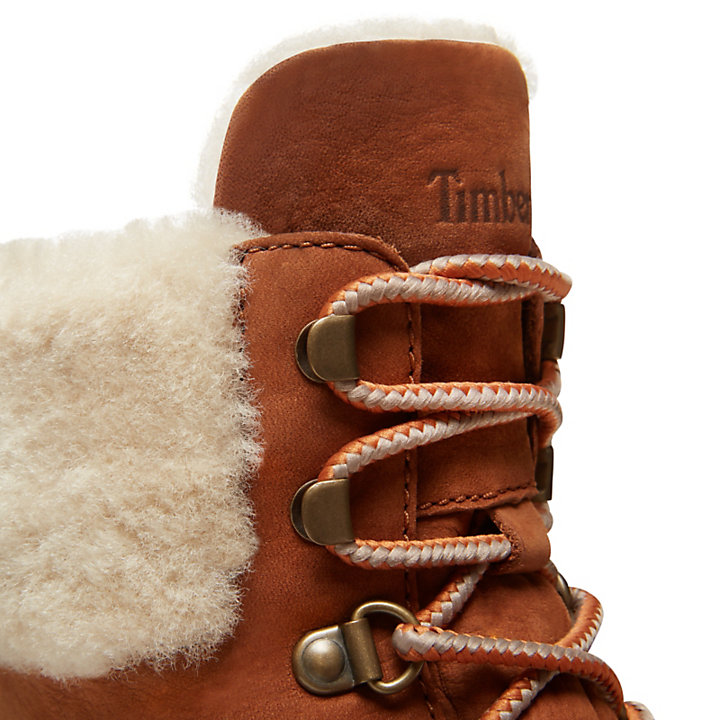 Bott. Courmayeur Valley Shearling Femme en rouille-