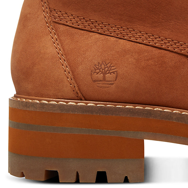Courmayeur Valley Shearling Boot for Women in Rust-